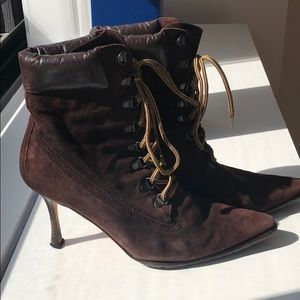 Authentic Manolo Blahnik Booties